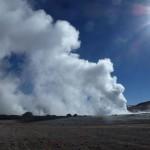 Semi-active volcano