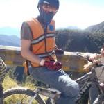 A short rest mid-route